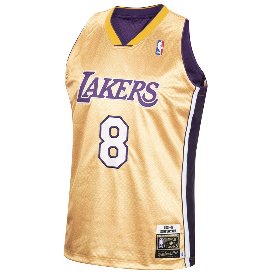 kobe-bryant-lakers-reversible-snakeskin-gold-number-8-jersey-front