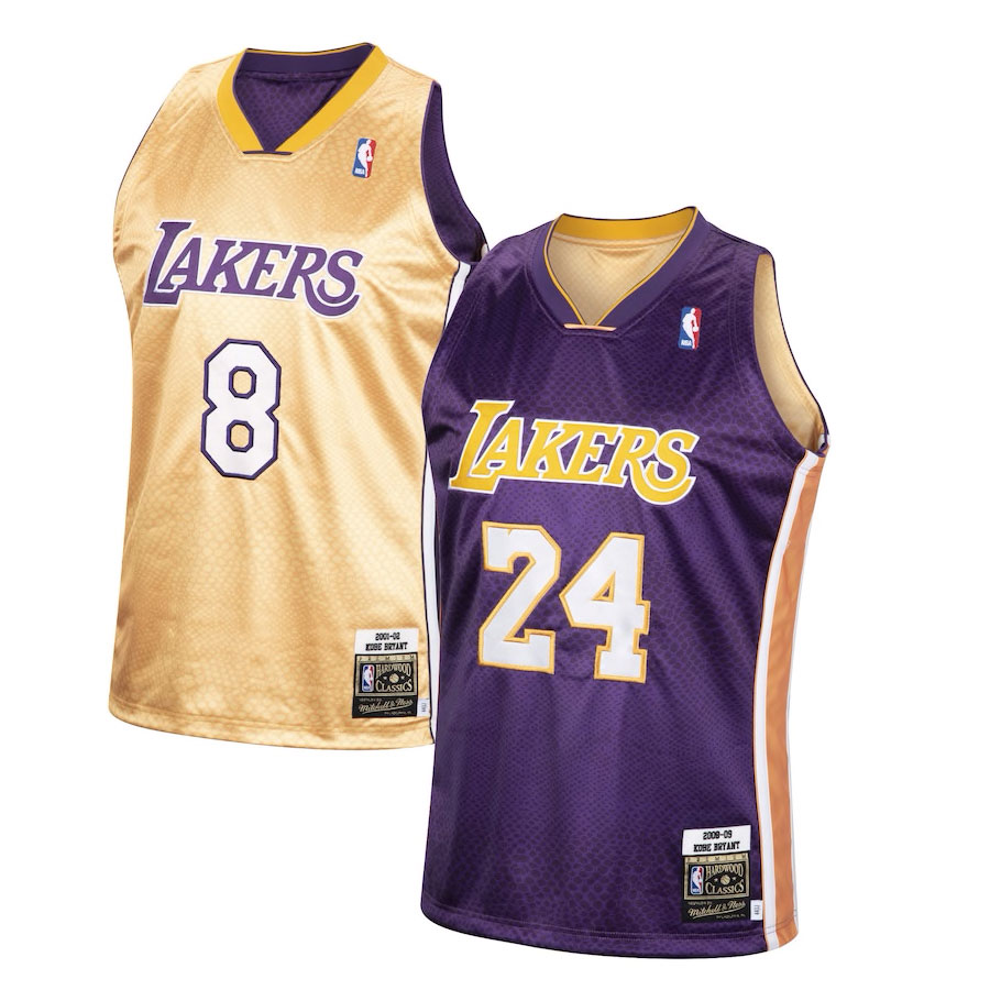 kobe-bryant-lakers-reversible-snakeskin-jersey-mitchell-and-ness