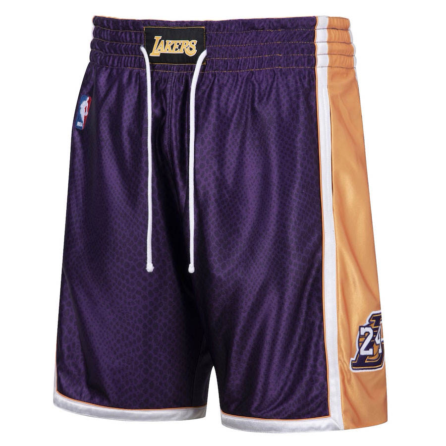 kobe-bryant-lakers-reversible-snakeskin-purple-number-24-shorts-front