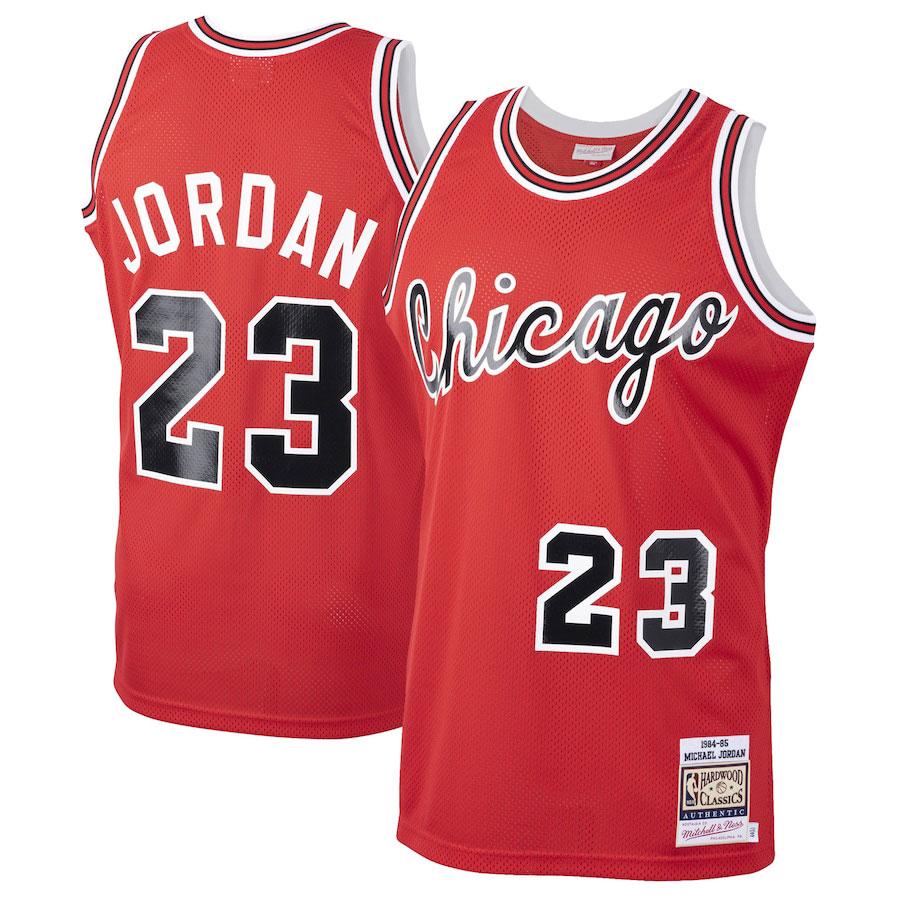 michael-jordan-chicago-bulls-red-rookie-jersey