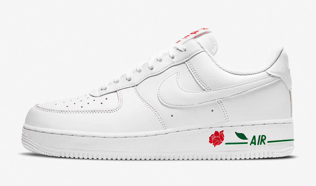 nike air force 1 white rose sneaker clothing match