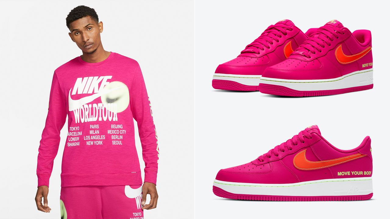 nike-air-force-1-world-tour-move-your-body-fireberry-lime-clothing-outfits