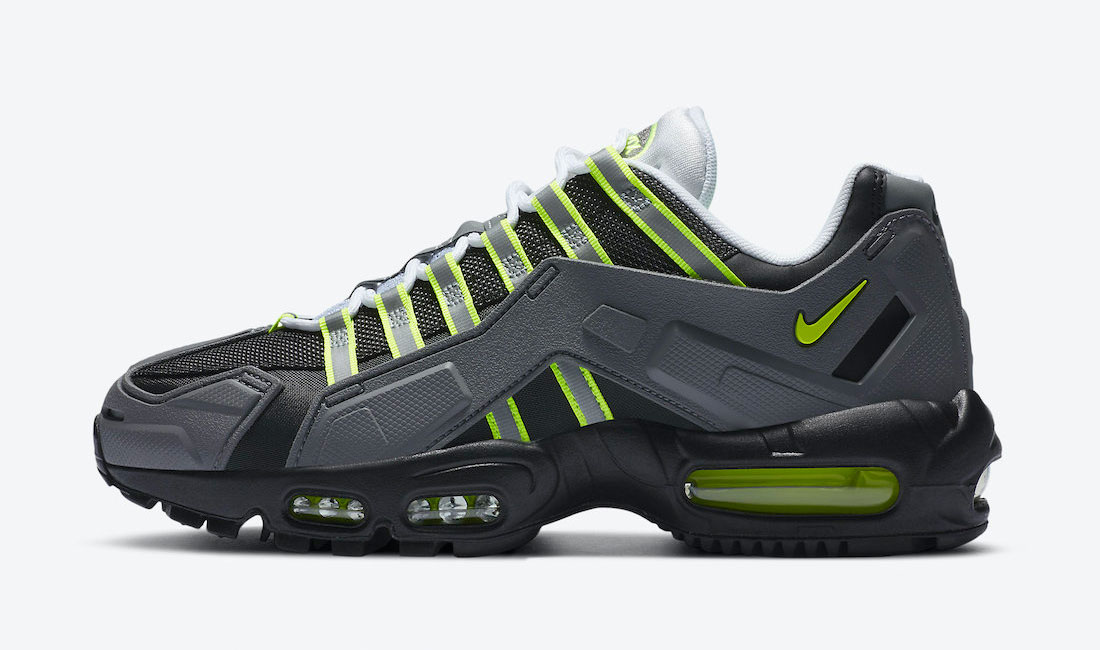 nike air max 95 ndstrkt neon sneaker clothing match