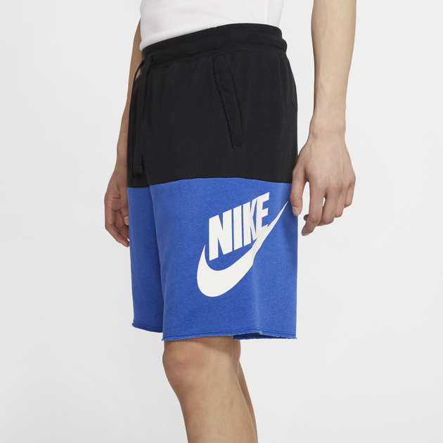 nike-alumni-shorts-black-royal-blue