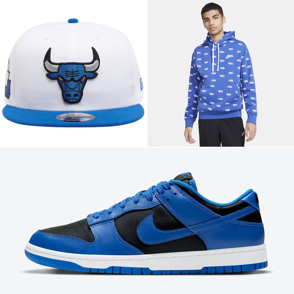 nike-dunk-low-hyper-cobalt-clothing-hat-match