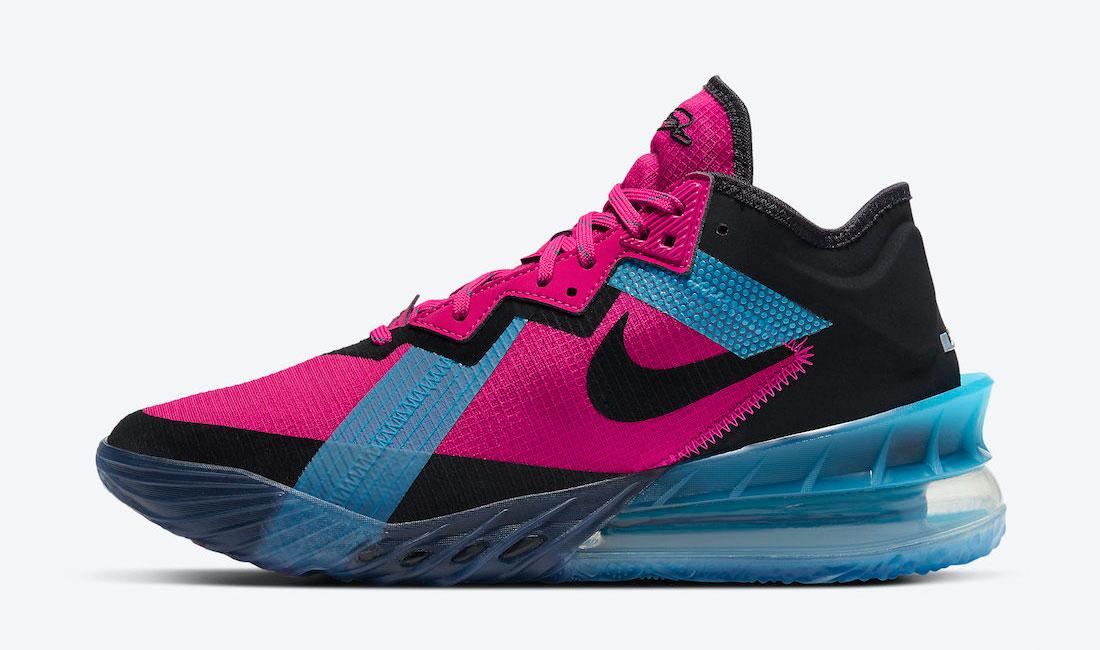 nike lebron 18 low fireberry neon nights sneaker clothing match