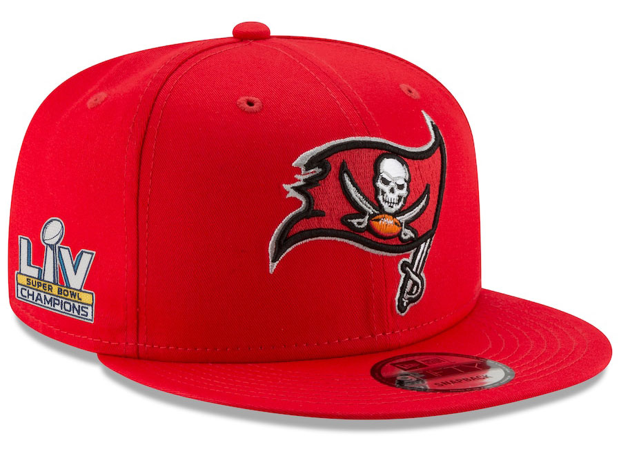 tampa-bay-buccaneers-super-bowl-lv-champions-new-era-9fifty-red-snapback-hat