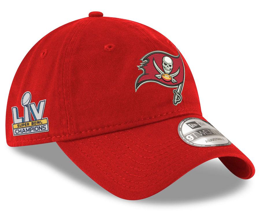 tampa-bay-buccaneers-super-bowl-lv-champions-new-era-adjustable-9twenty-red-adjustable-hat