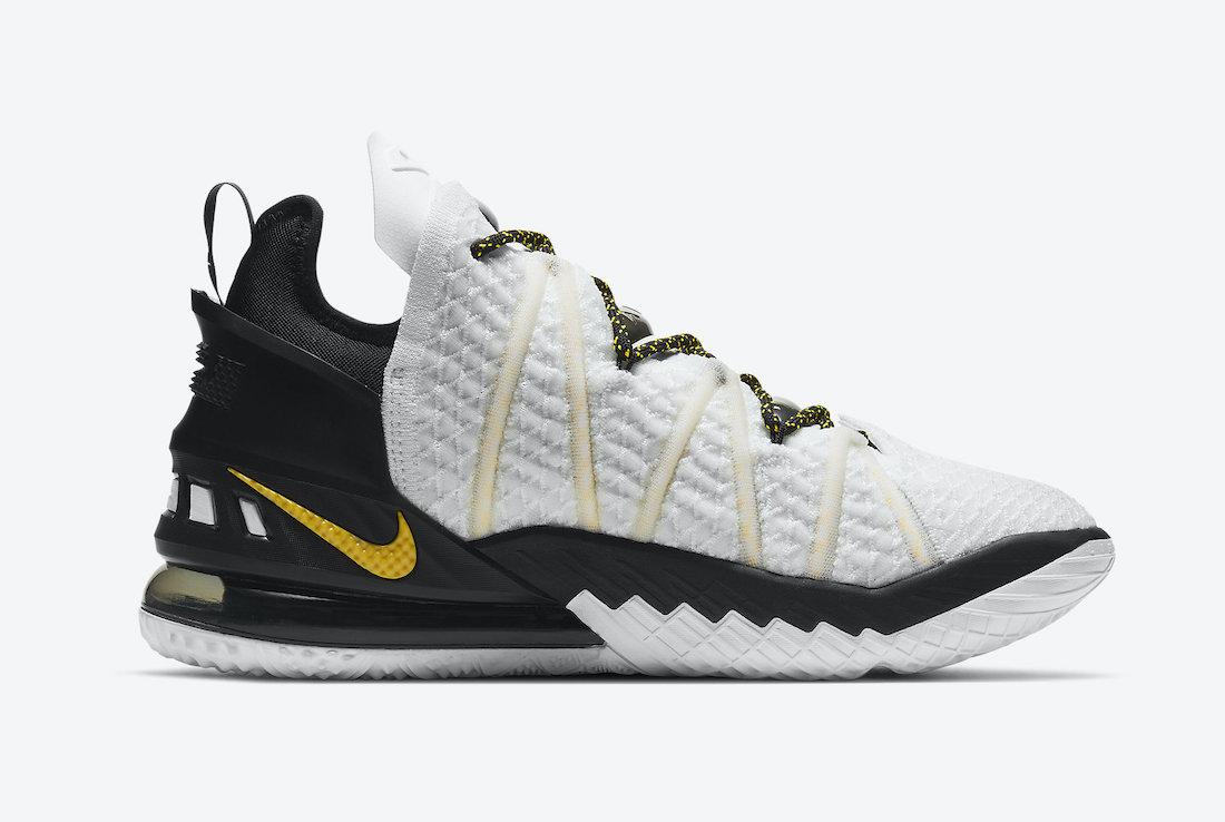 Nike-LeBron-18-Home-White-Amarillo-Black-CQ9283-100-Release-Date-2