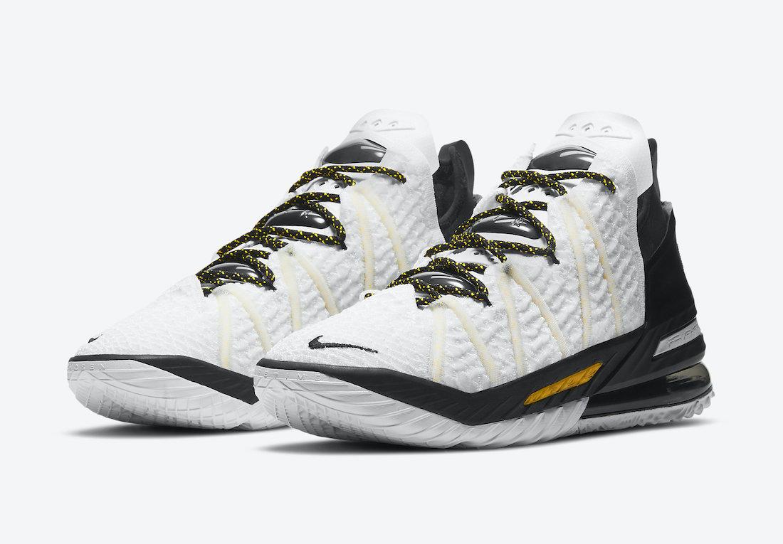 Nike-LeBron-18-Home-White-Amarillo-Black-CQ9283-100-Release-Date-4
