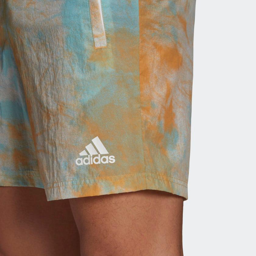 adidas-essentials-tie-dyed-shorts-orange-blue-3