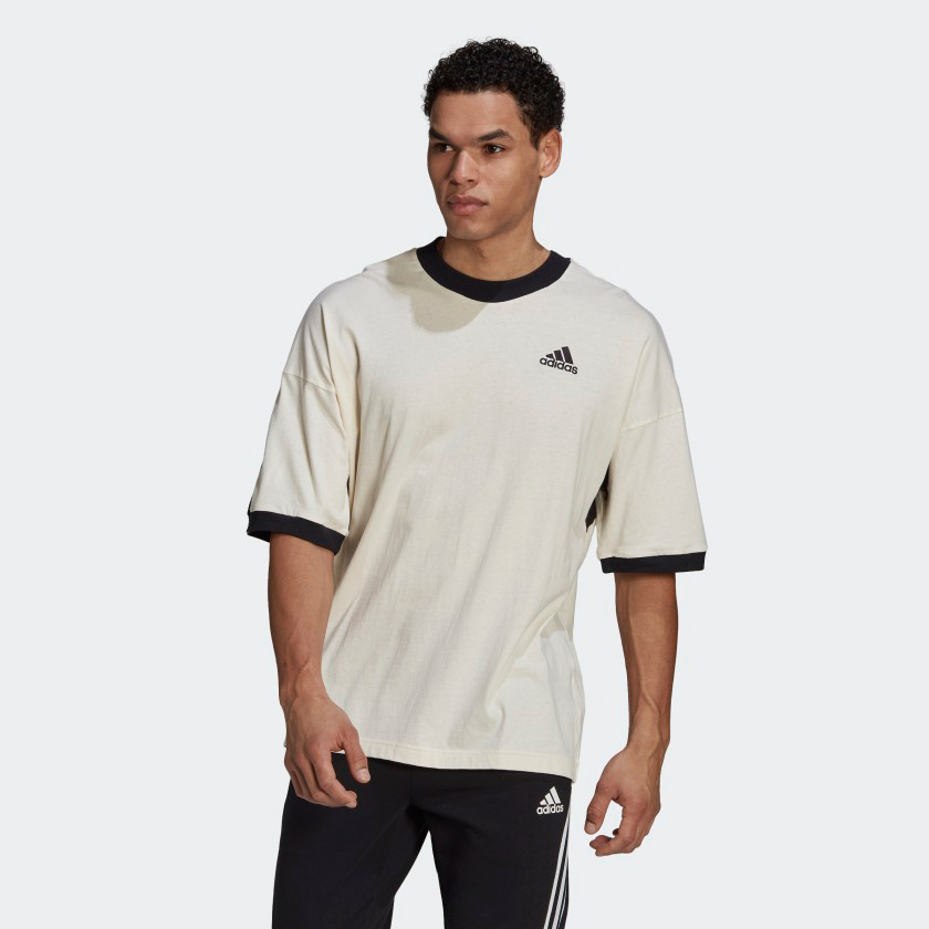 adidas-sportswear-recycled-cotton-tee-shirt-cream-black-1