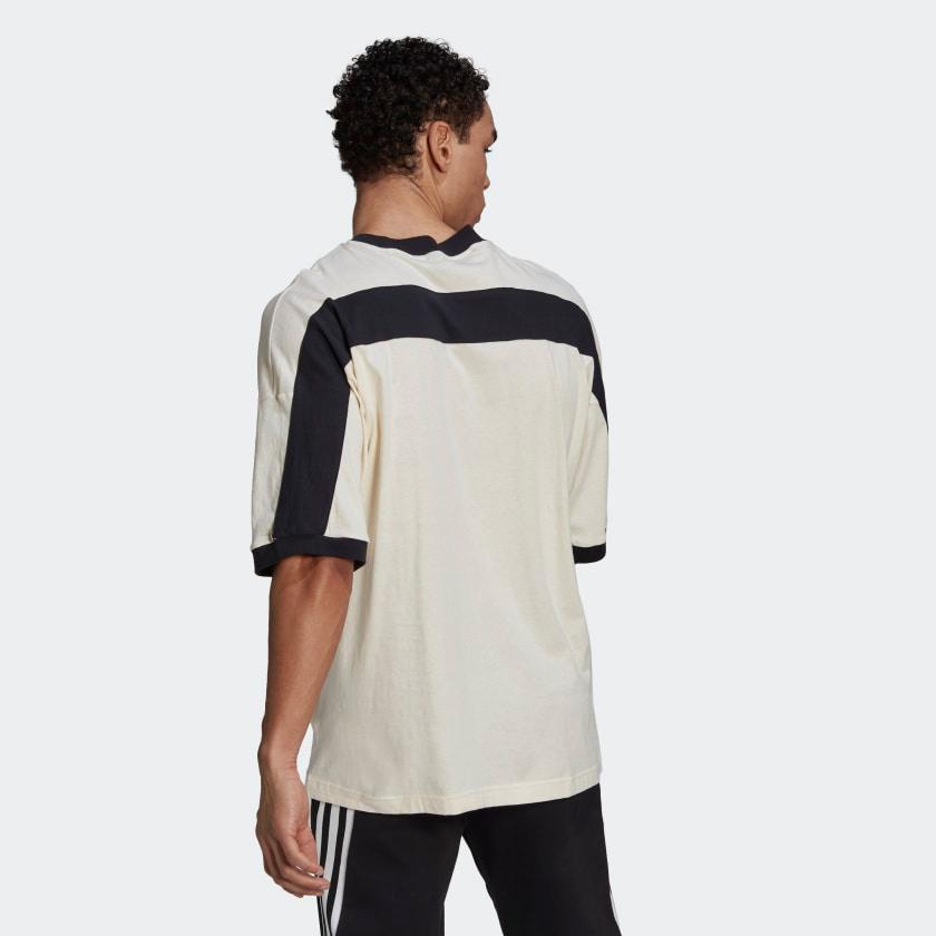 adidas-sportswear-recycled-cotton-tee-shirt-cream-black-2