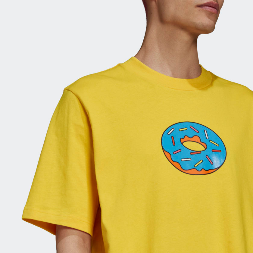 adidas-the-simpsons-donut-tee-shirt-yellow-1
