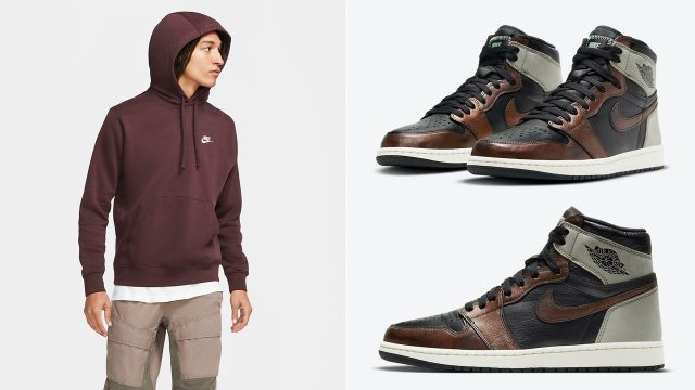 air-jordan-1-high-light-army-patina-hoodie-match