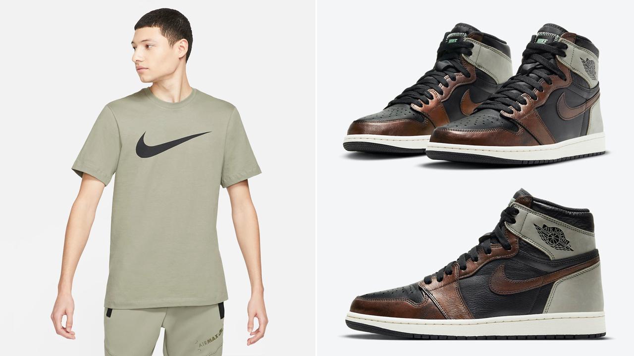 air-jordan-1-high-patina-light-army-shirt-match