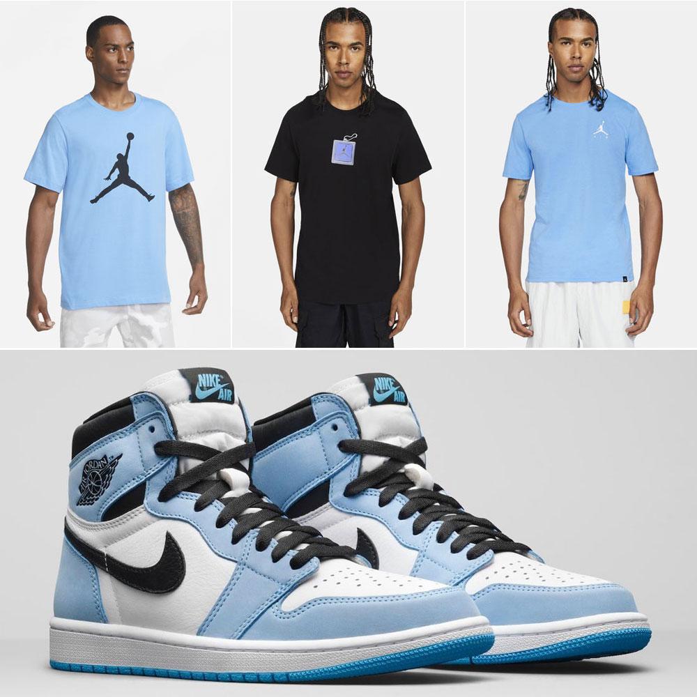 air-jordan-1-high-university-blue-shirts