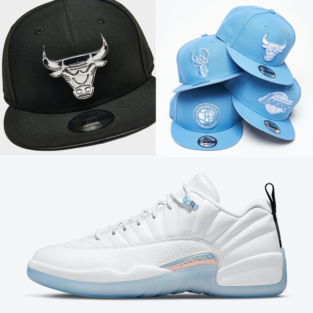 air-jordan-12-low-easter-hats