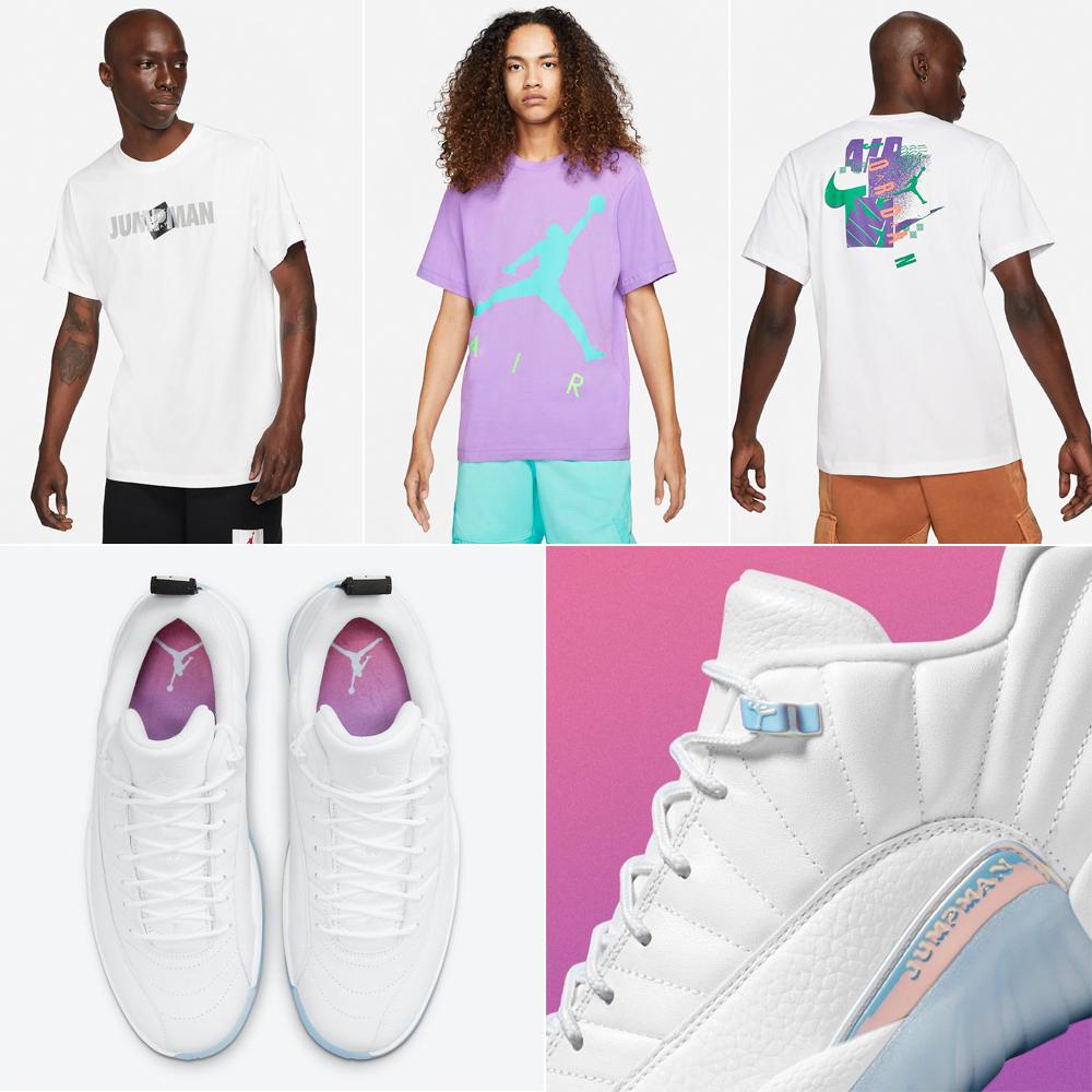 air-jordan-12-low-easter-shirts