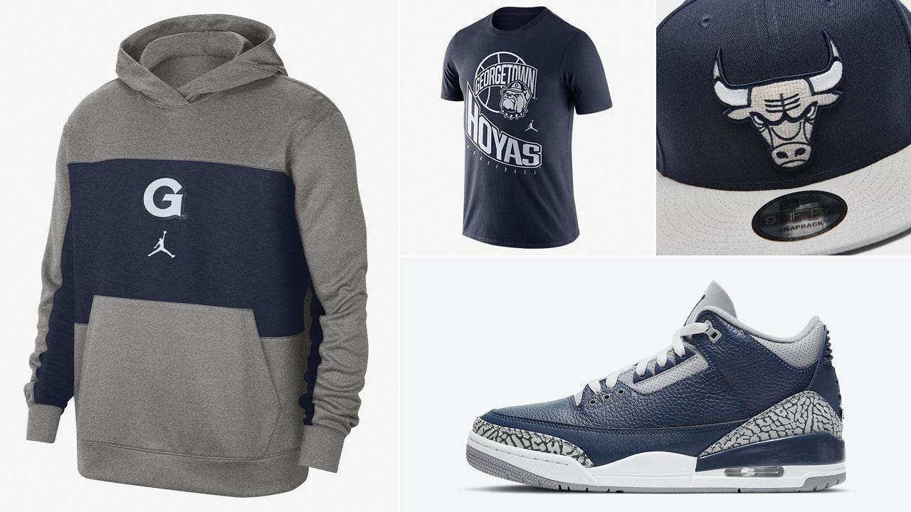 air-jordan-3-georgetown-midnight-navy-clothing-shirt-hat