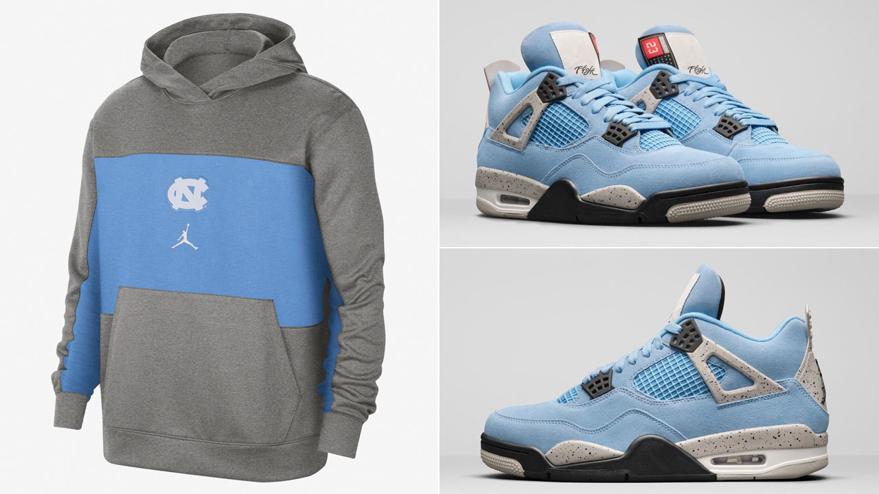 air-jordan-4-university-blue-grey-unc-hoodie