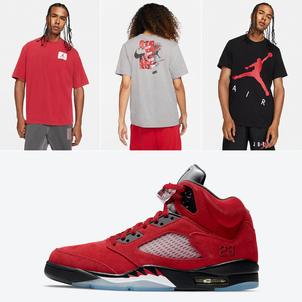 air-jordan-5-raging-bull-toro-shirts-clothing