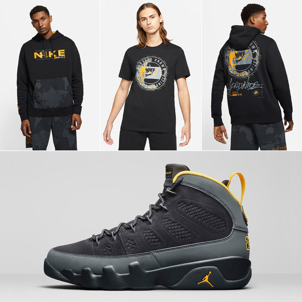 air-jordan-9-university-gold-nike-clothing-match