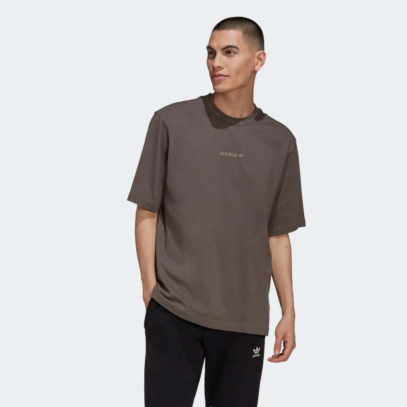 bad-bunny-adidas-brown-tee-shirt