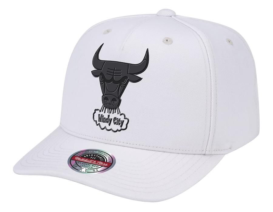 chicago-bulls-mitchell-ness-casper-white-snapback-hat