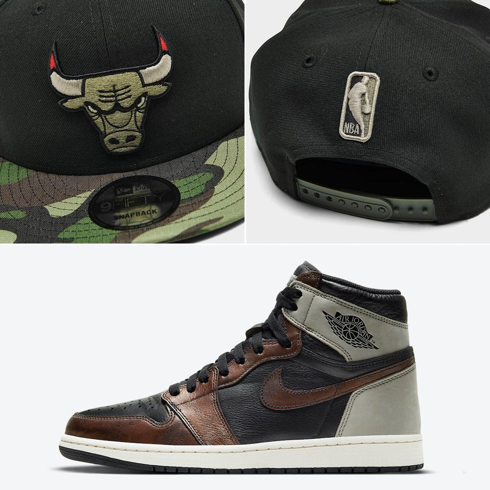 jordan-1-patina-bulls-hat-match