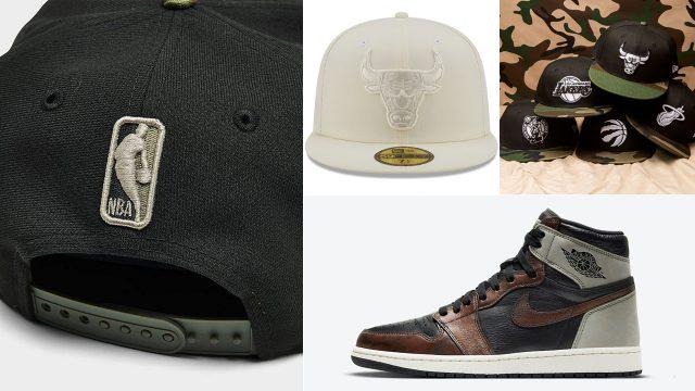 jordan-1-patina-light-army-hats