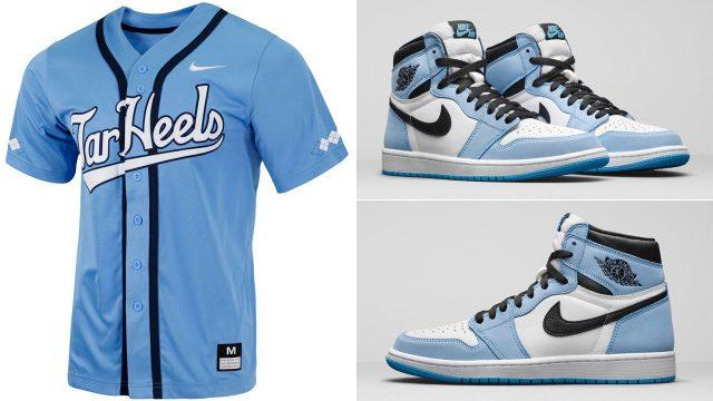 jordan-1-university-blue-unc-tar-heels-baseball-jersey