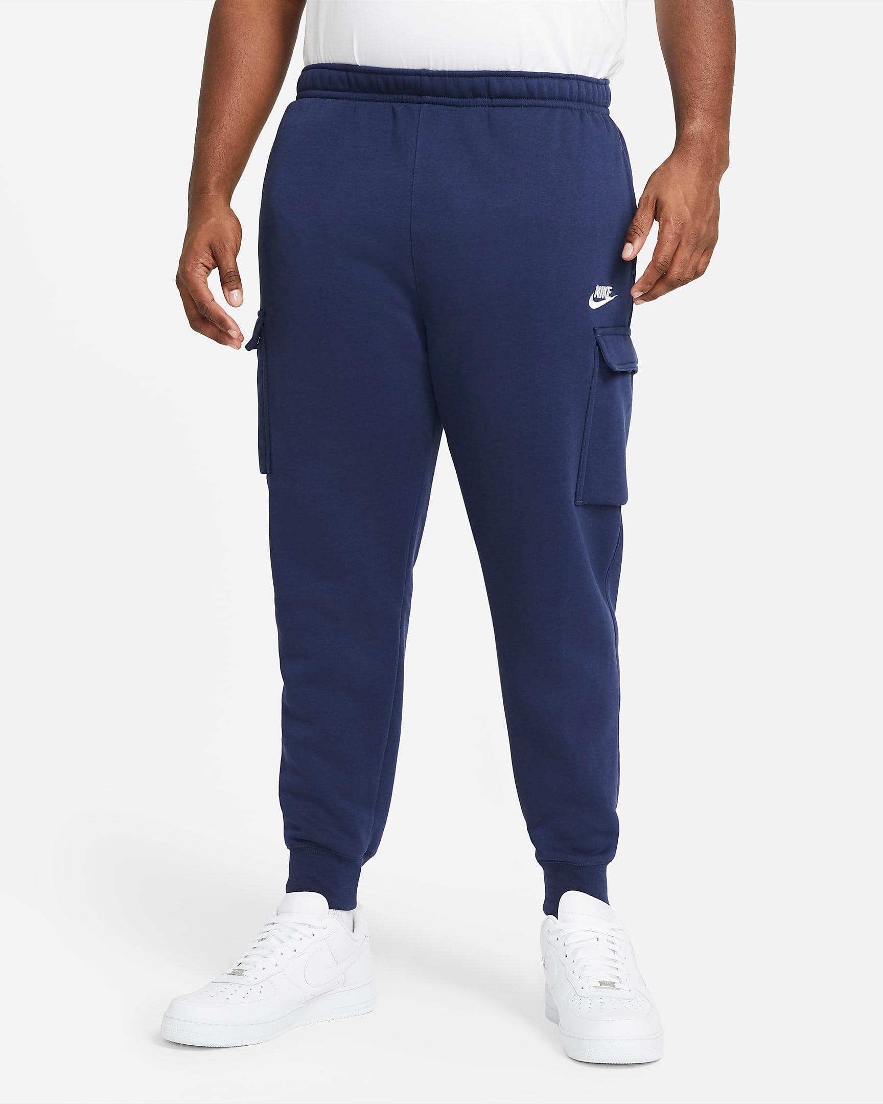 jordan-3-midnight-navy-nike-club-cargo-pants