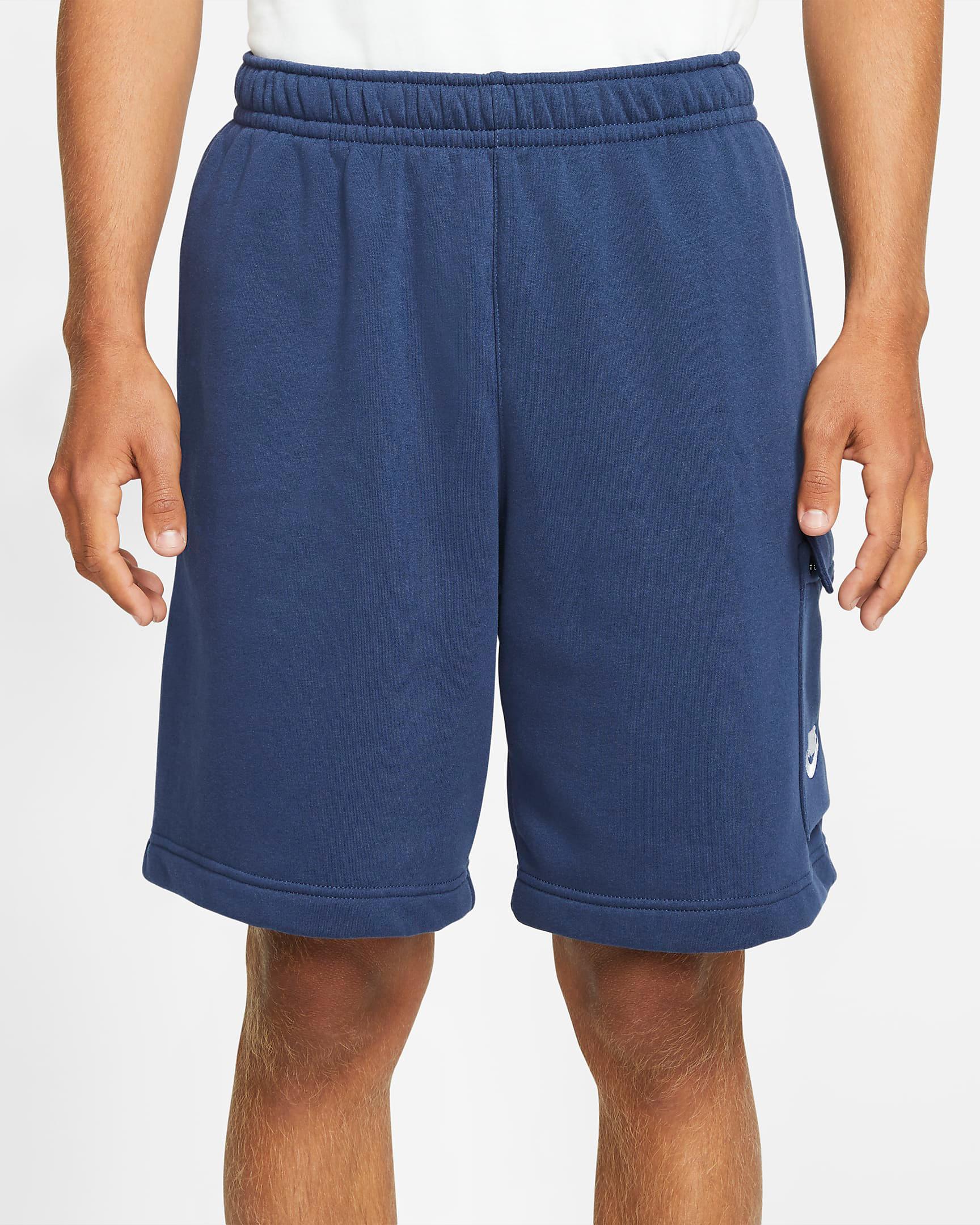 jordan-3-midnight-navy-nike-club-cargo-shorts-1