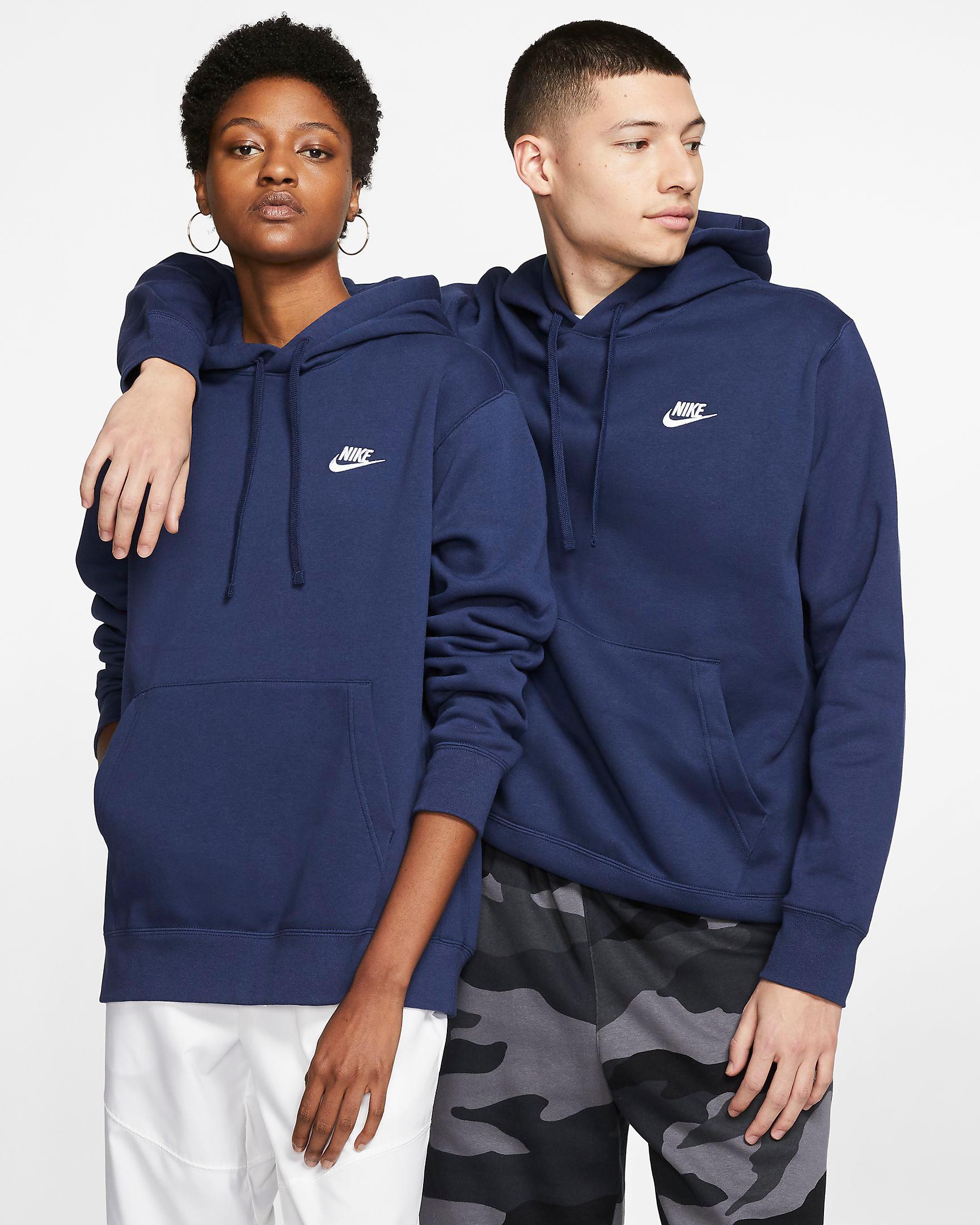 jordan-3-midnight-navy-nike-club-fleece-hoodie