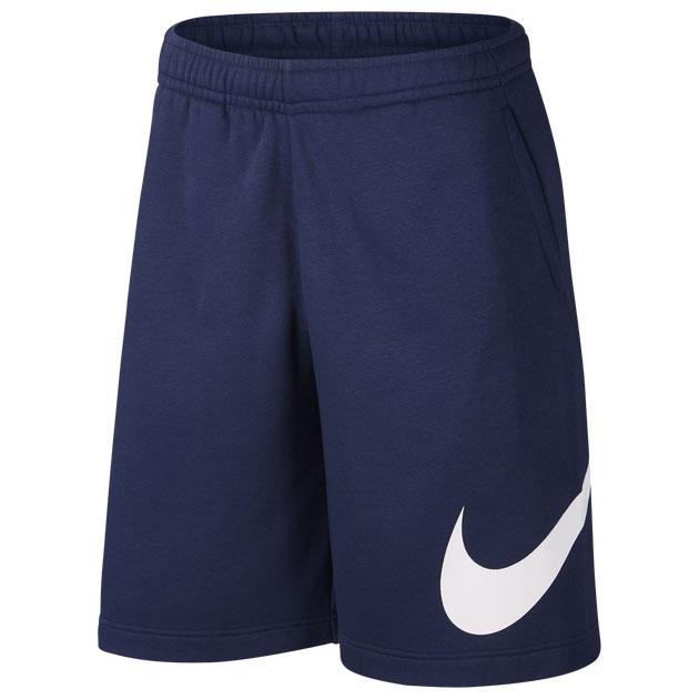 jordan-3-midnight-navy-nike-fleece-shorts