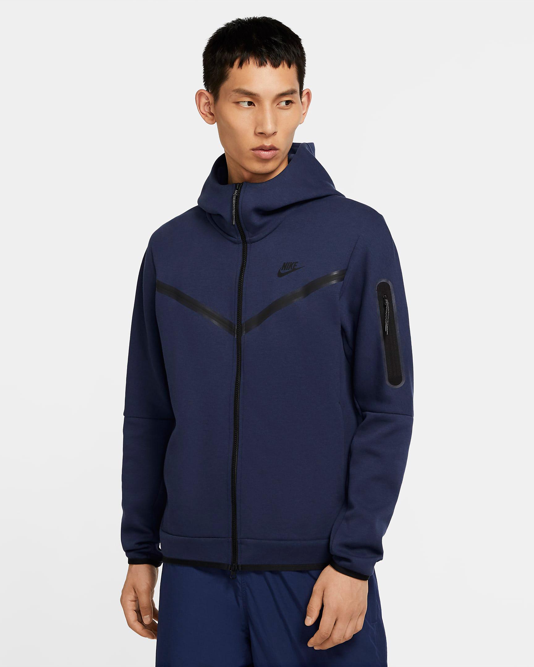 jordan-3-midnight-navy-nike-tech-fleece-hoodie