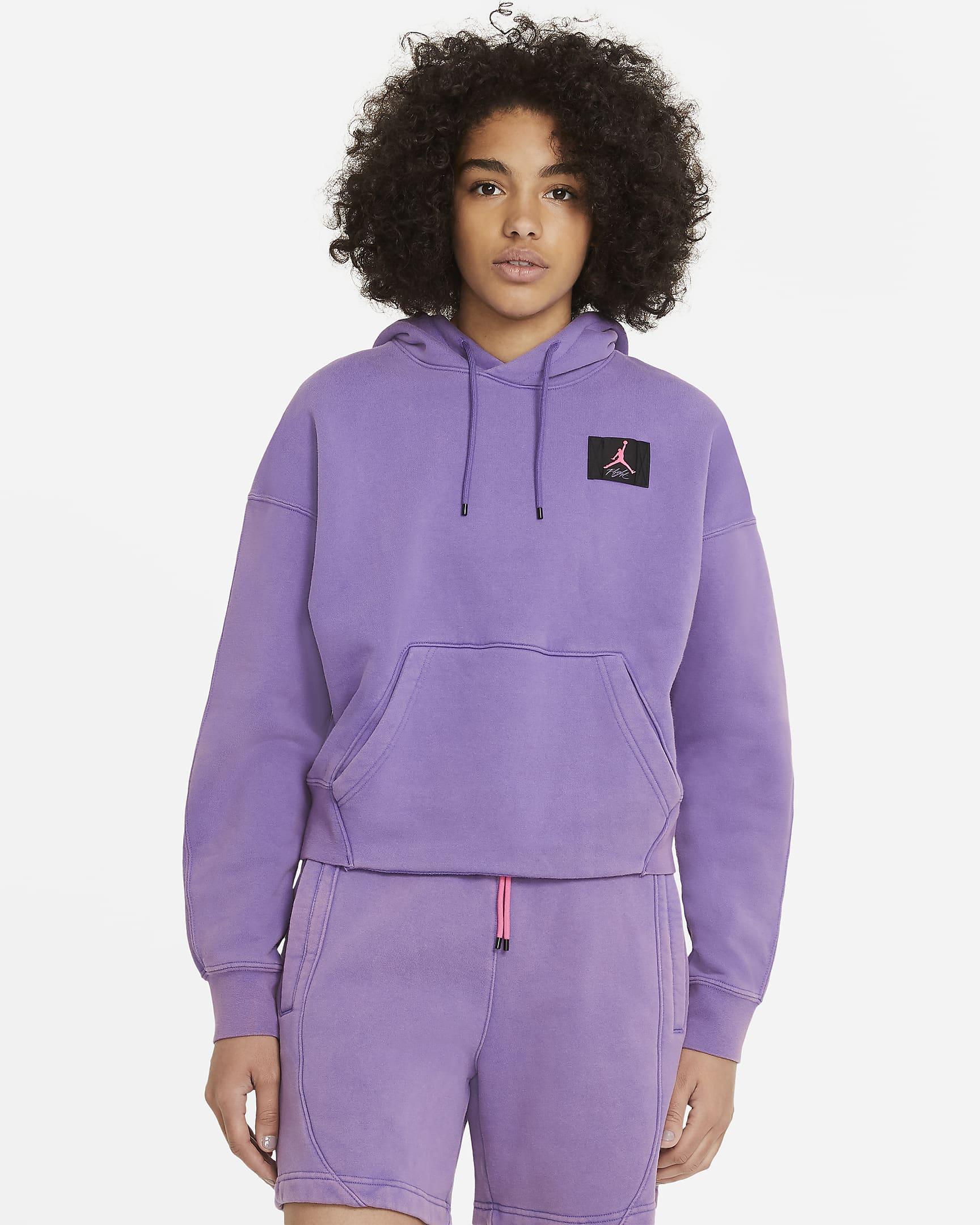 jordan-flight-womens-fleece-pullover-hoodie-wJP95l