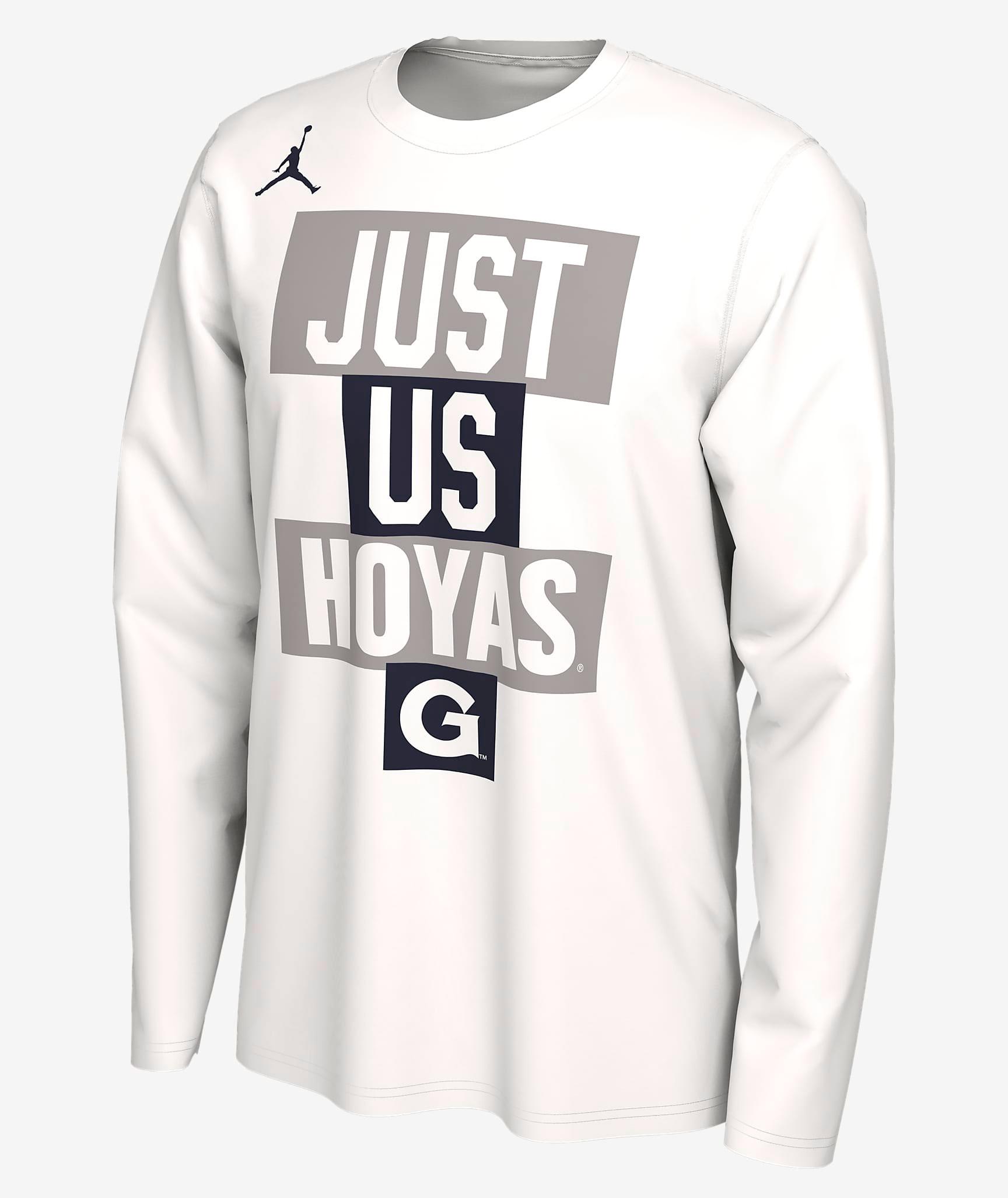 jordan-georgetown-hoyas-just-us-shirt