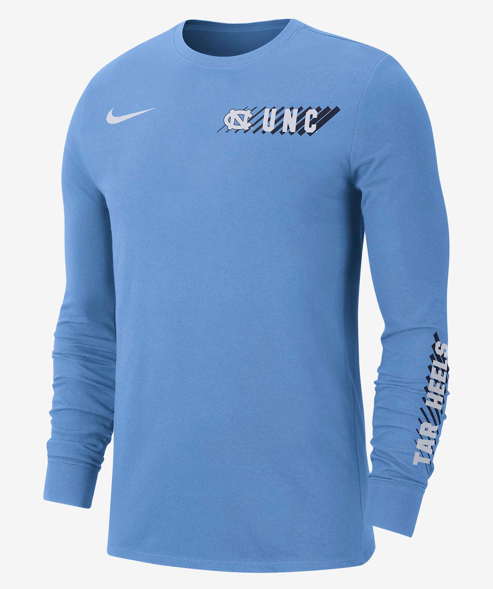 jordan-university-blue-unc-tar-heels-long-sleeve-shirt