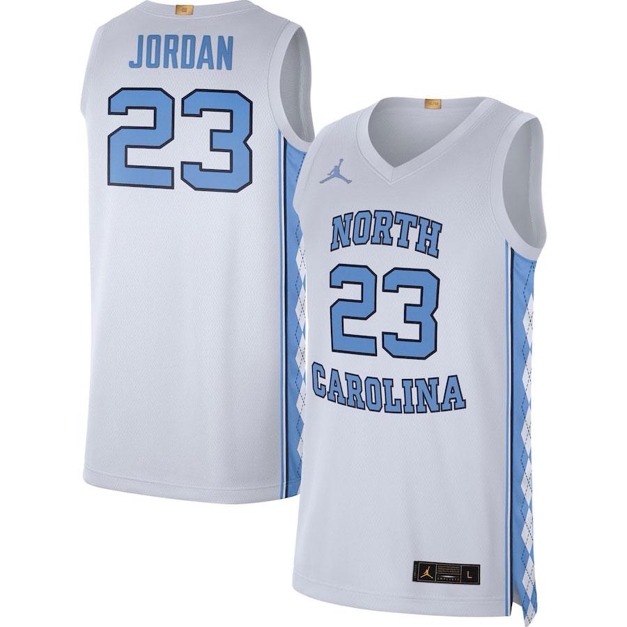 micahel-jordan-unc-tar-heels-jersey-white-university-blue