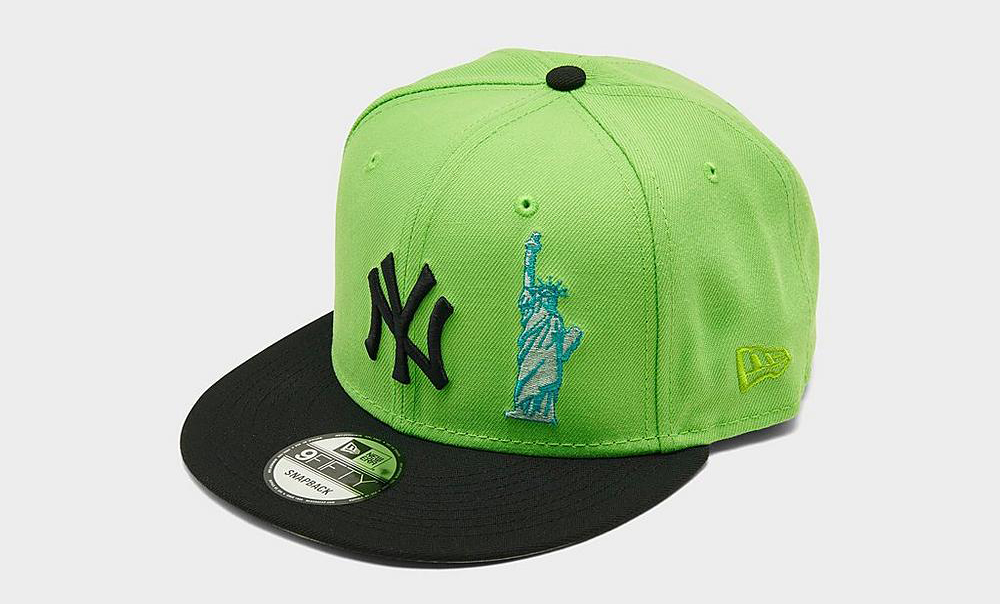 new-era-new-york-yankees-statue-snapback-hat-lime-green-black-1