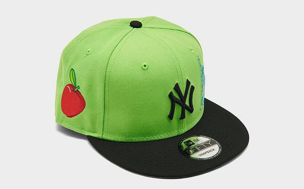 new-era-new-york-yankees-statue-snapback-hat-lime-green-black-2