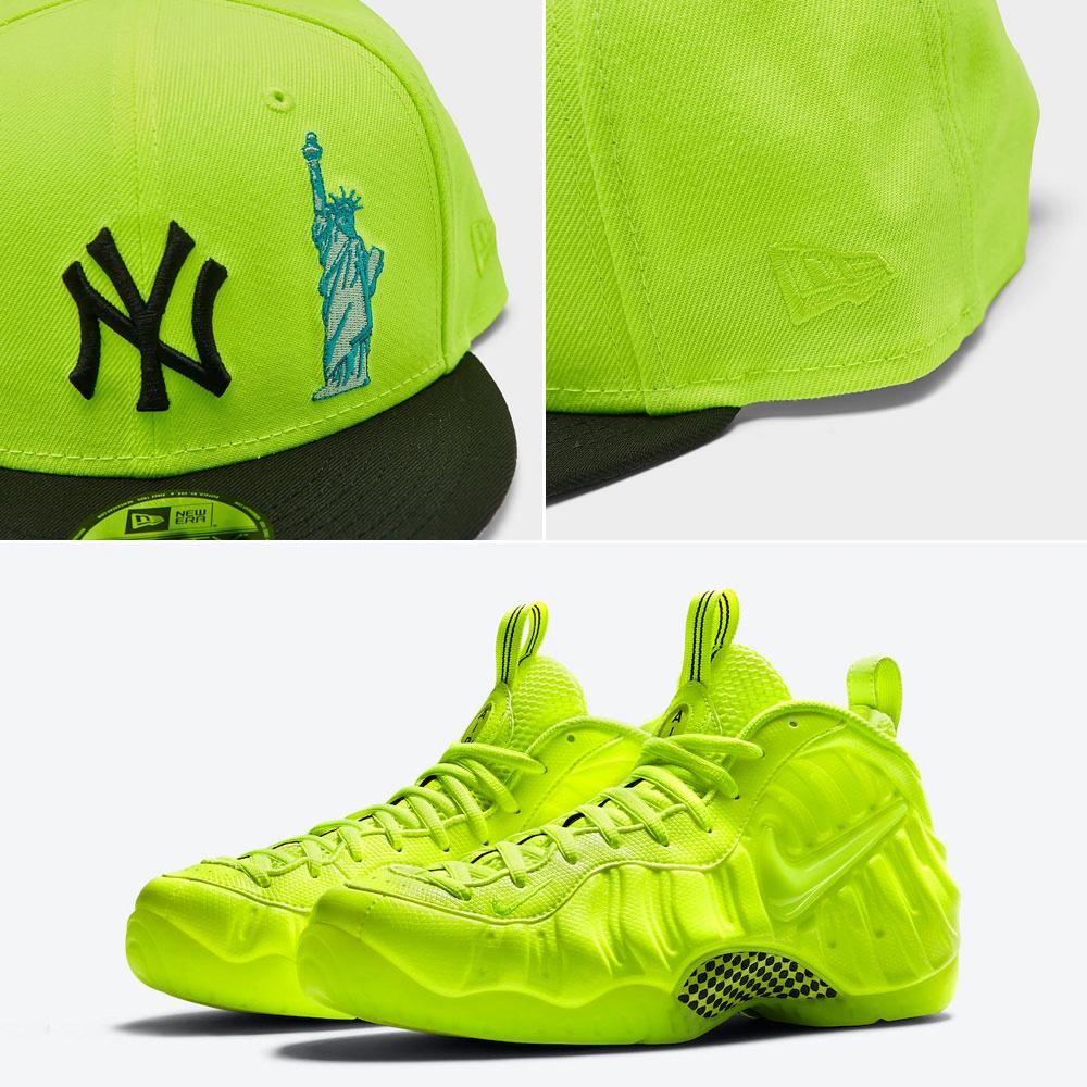 nike-air-foamposite-pro-volt-snapback-hat