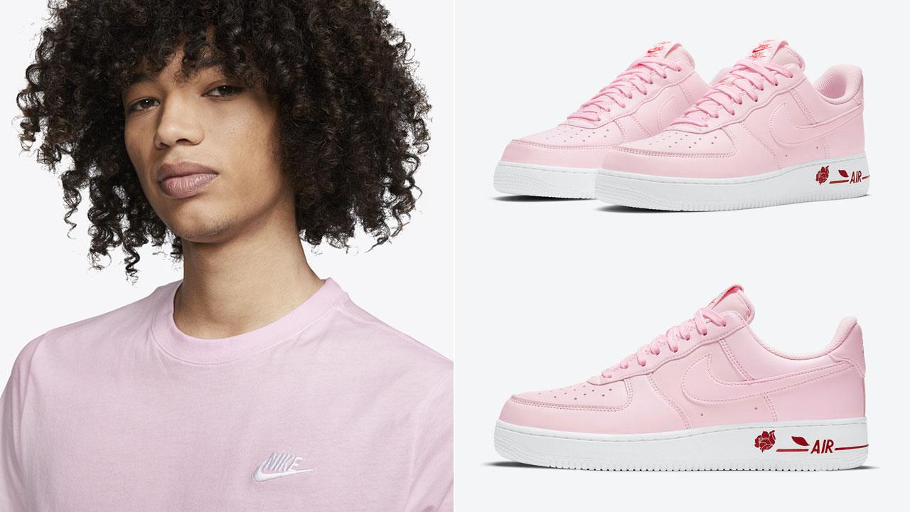 nike-air-force-1-rose-pink-foam-shirt
