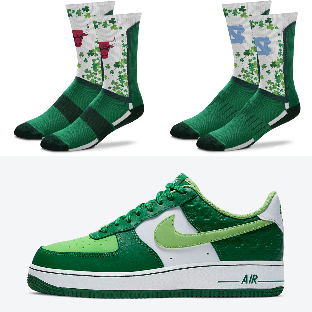 nike-air-force-1-st-patricks-day-2021-socks