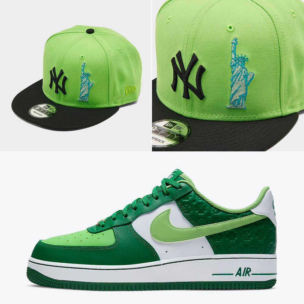 nike-air-force-1-st-patricks-day-new-york-yankees-hat