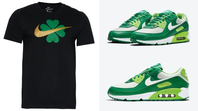 nike-air-max-90-st-patricks-day-2021-shirt