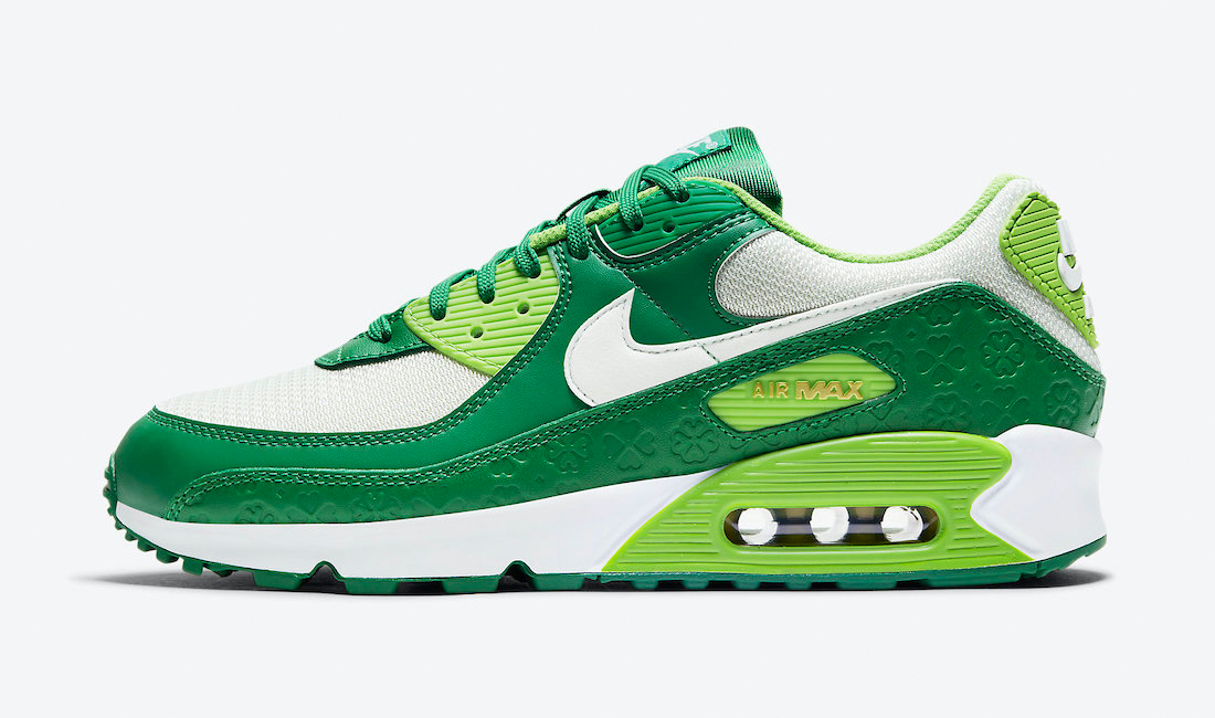 nike-air-max-90-st-patricks-day-2021-sneaker-clothing-match