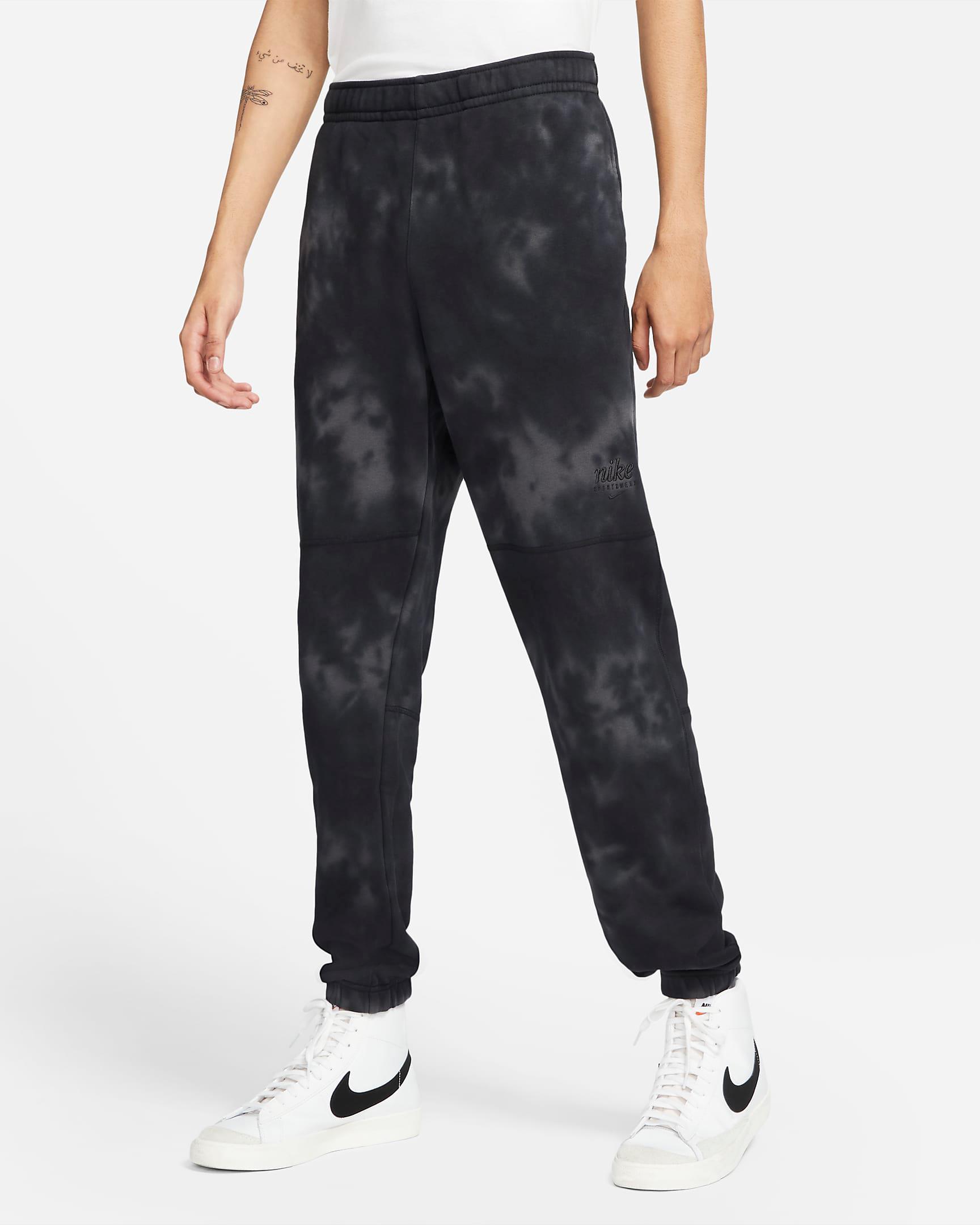 nike-club-fleece-black-tie-dye-jogger-pants-1